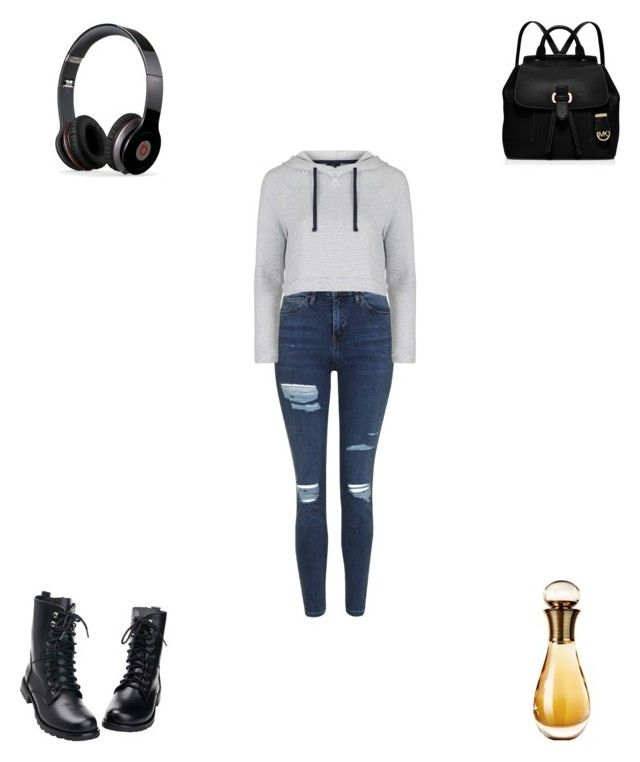 """""""Untitled #3000"""" by webbgyrl2000 ❤ liked on Polyvore featuring Beats by Dr. Dre, Topshop, MICHAEL Michael Kors and Christian Dior"""
