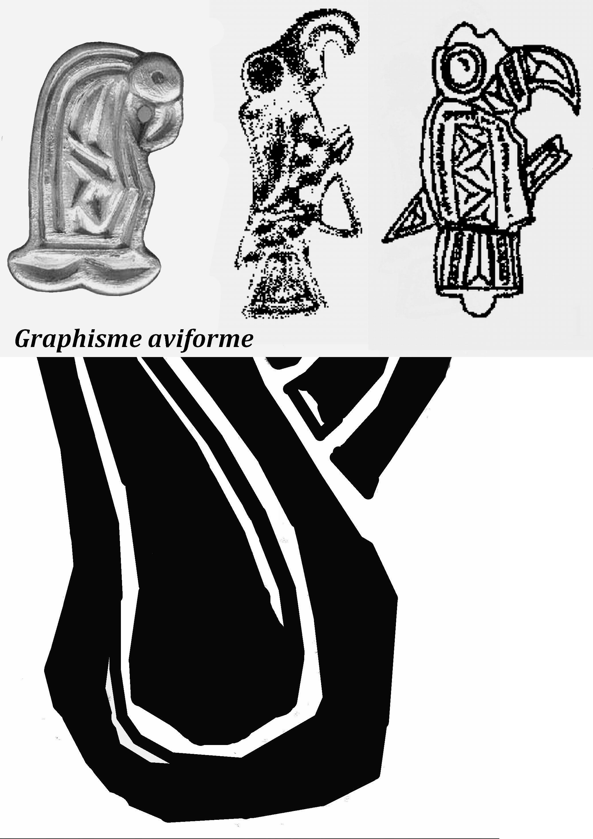 Lauragais- Graphisme aviforme, sur des plaques boucles de la région de St-Felix, VII°s-  DAGOBERT 1°- 3)BIOGRAPHIE. 3.2 ROI D'AUSTRASIE, 30: En matière fiscale, il ordonne la restauration du cadastre, le versement annuel d'une redevance par les Grands. Les levées exceptionnelles sont supprimées et le droit de gîte et l'hospitalité, qui permet au roi et son escorte de bénéficier d'un hébergement et de subsistance, n'est plus accablant et des dédommagements sont accordés aux cotés d'accueil.