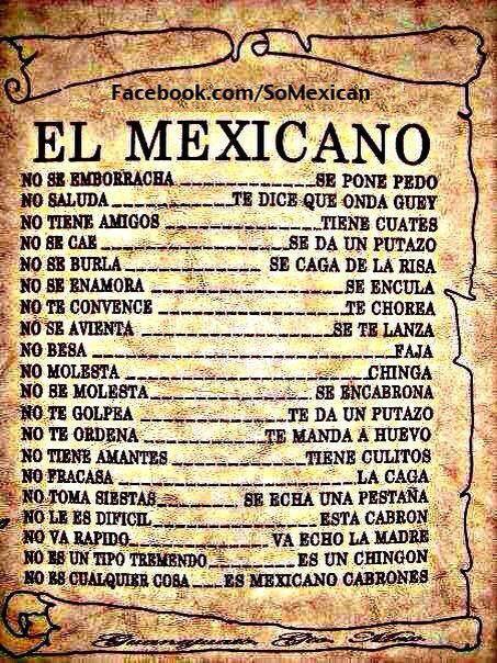 El Mexicano Frases Chistosas Mexicanas Frases De Borrachos Meme De Cumpleanos