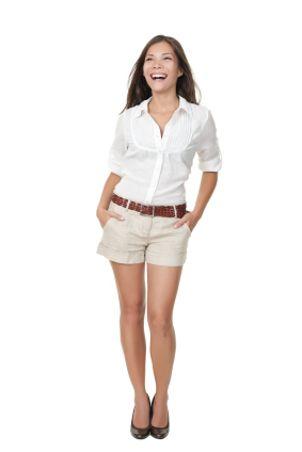 khaki shorts   Dream Wardrobe   Pinterest   Khaki shorts outfit ...
