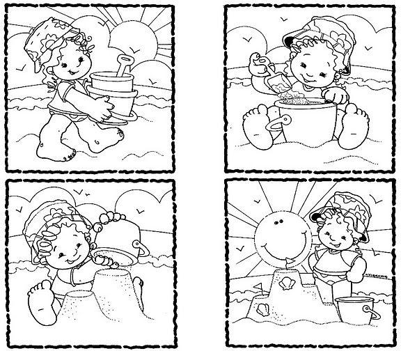 Dibujo De Secuencias Para Colorear Imagui Secuencias