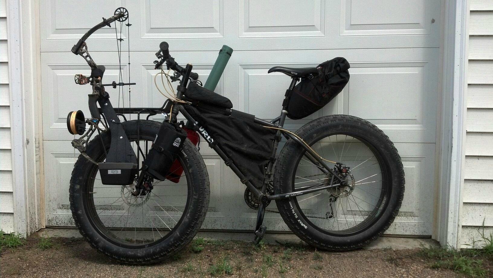 Pin On Bikepacking With A Fat Bike