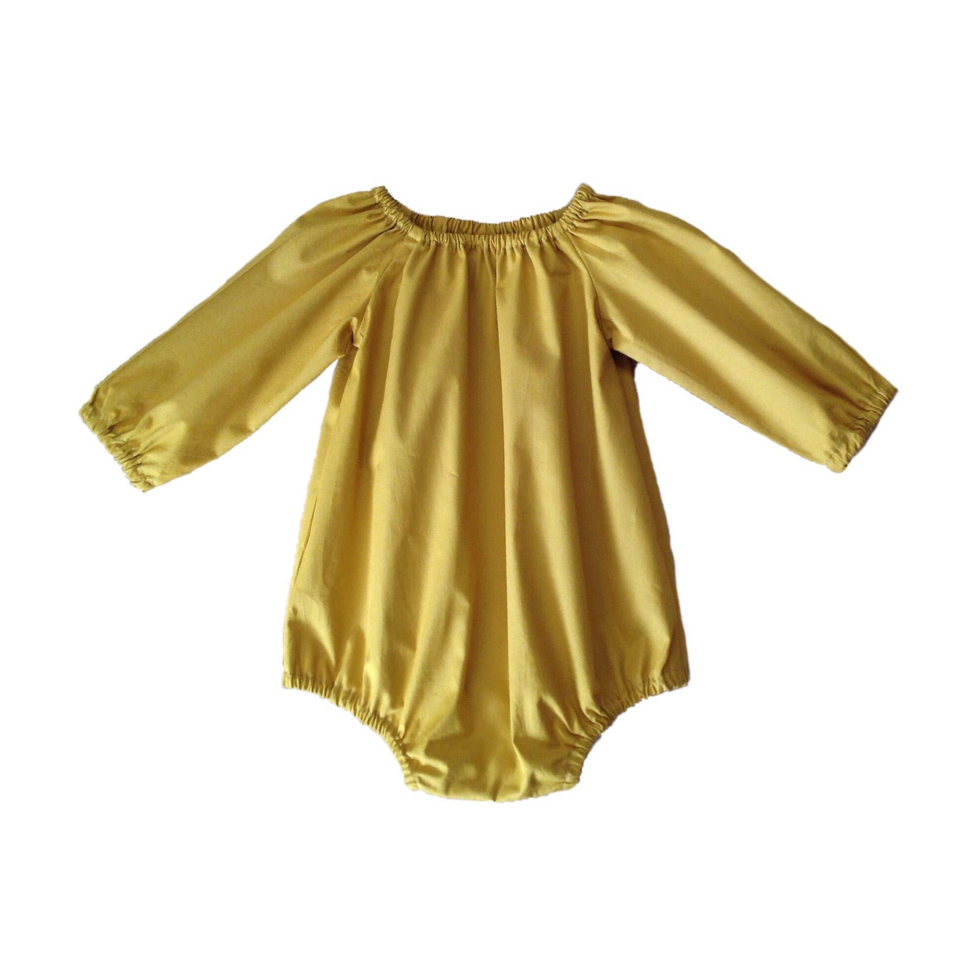 Baby Romper Baby Fall Outfit Girls Fall Romper Baby Fall Romper