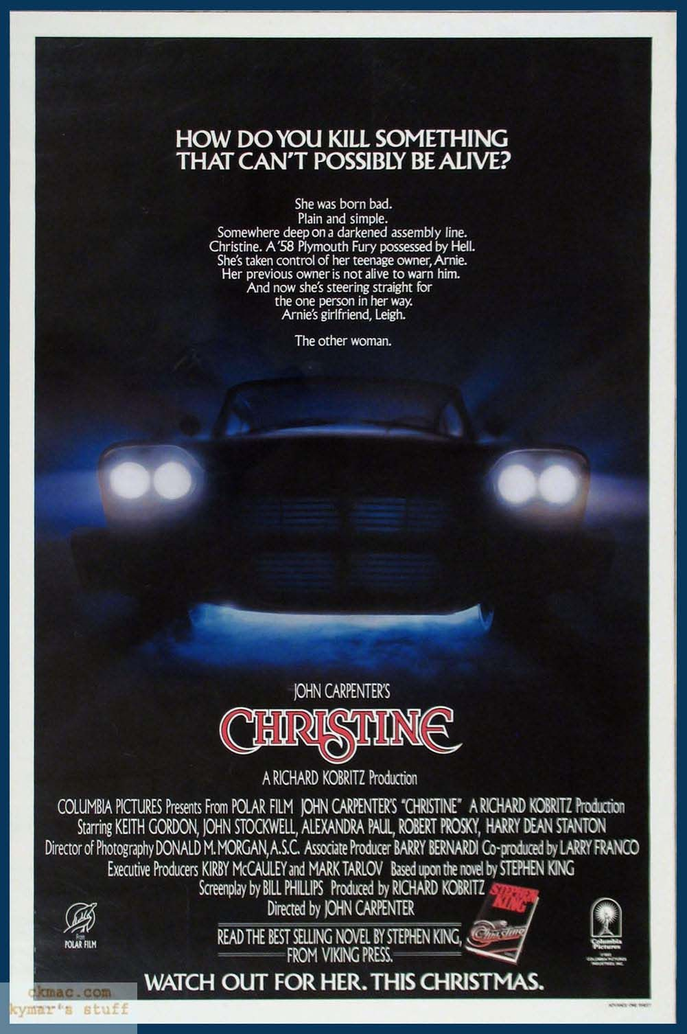 Christine best possessed car out there