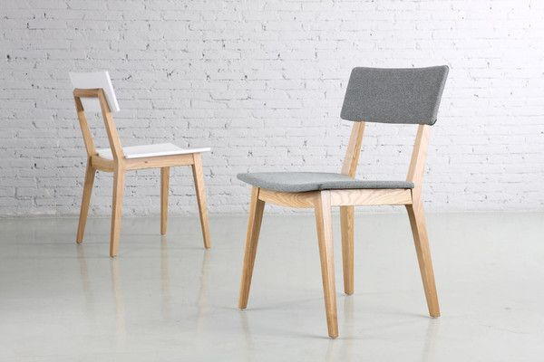 Academy Chair is moulded plywood and lacquered solid wood timber ...