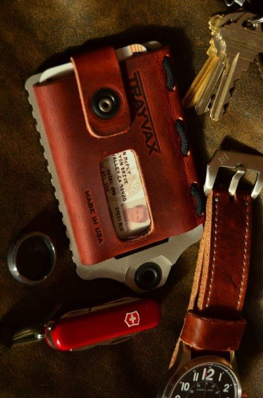 Trayvax Element Front Pocket EDC Minimalist Wallet - Everyday Carry Gear