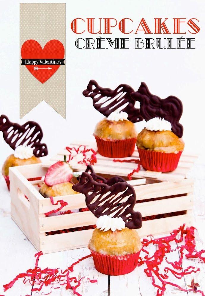 Receta de cupcakes para san valentin cupcake recipes - Dulces de san valentin ...