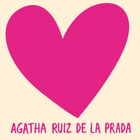 Agatha Ruiz De La Prada Corazones Rosados Patrones De Diseno Disenos De Unas
