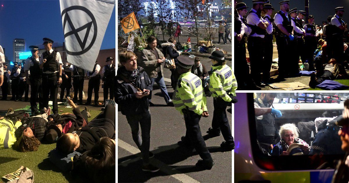 Climate Change Activists Turn On Government After Almost 1 000 Arrests Climate Change Government Night Pictures