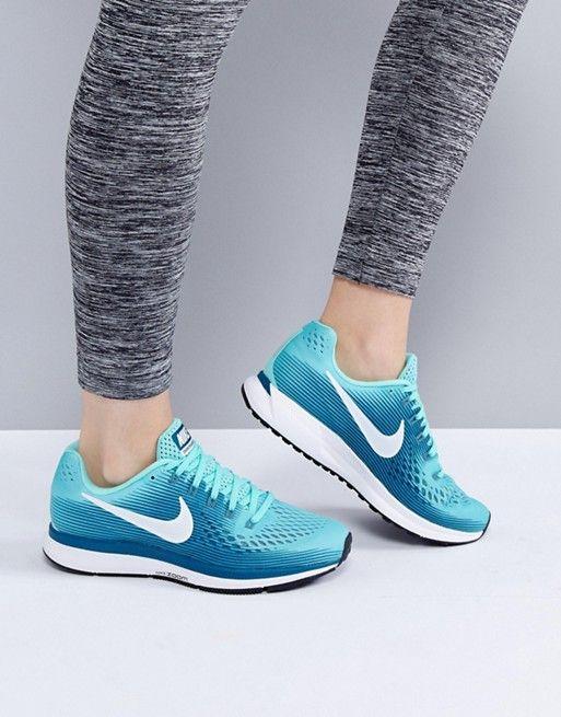 97b95c0ce2e75 Nike Running Air Zoom Pegasus 34 Trainers