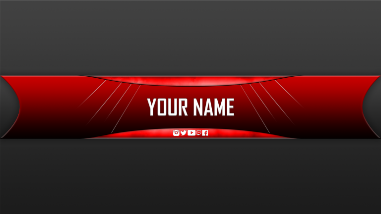 Free Youtube Banner Templates Helmar Designs Intended For Free Youtube Banner Template Youtube Banner Backgrounds Youtube Banners