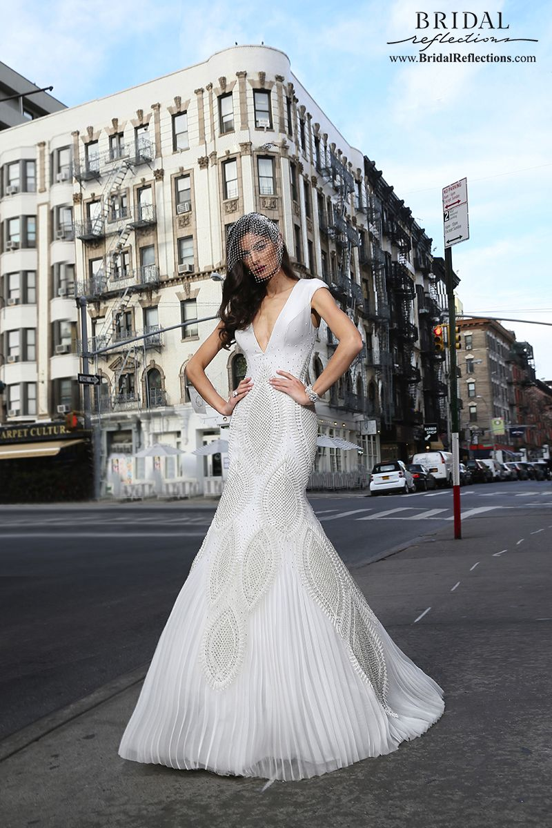 Victor harper couture wedding dress collection bridal reflections