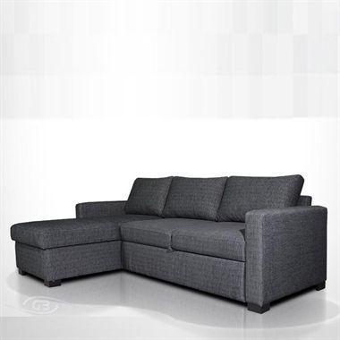 Nova Sofa Bed - This sleek corner unit from Grafu Baldai ...