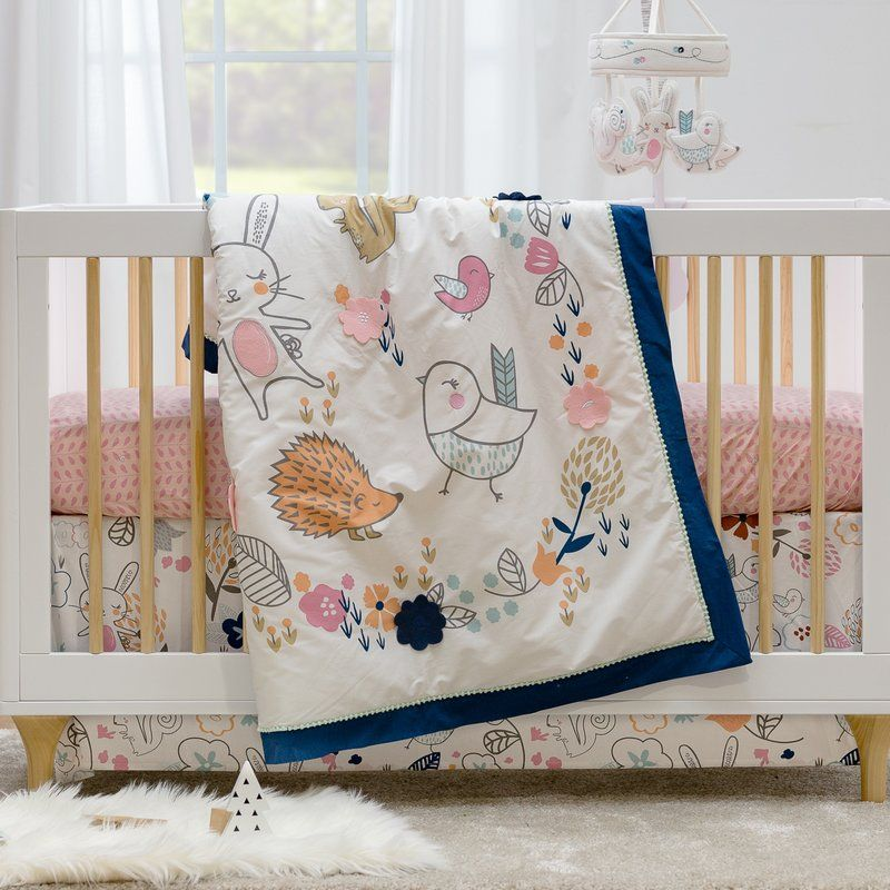 Stella Quilt Baby Blanket Nursery Bedding Wayfair Com Baby Quilts Quilt Sets Bedding Rustic Bedding