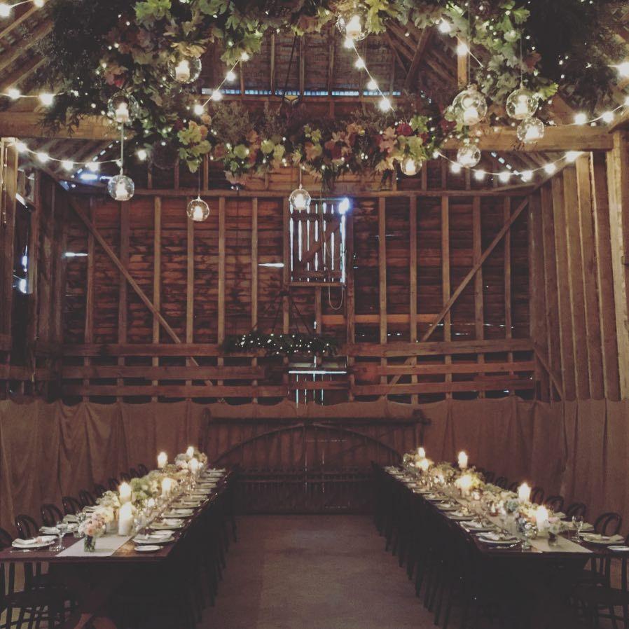 Rustic Brickendon Barn Wedding Reception Venue Longford Tasmania