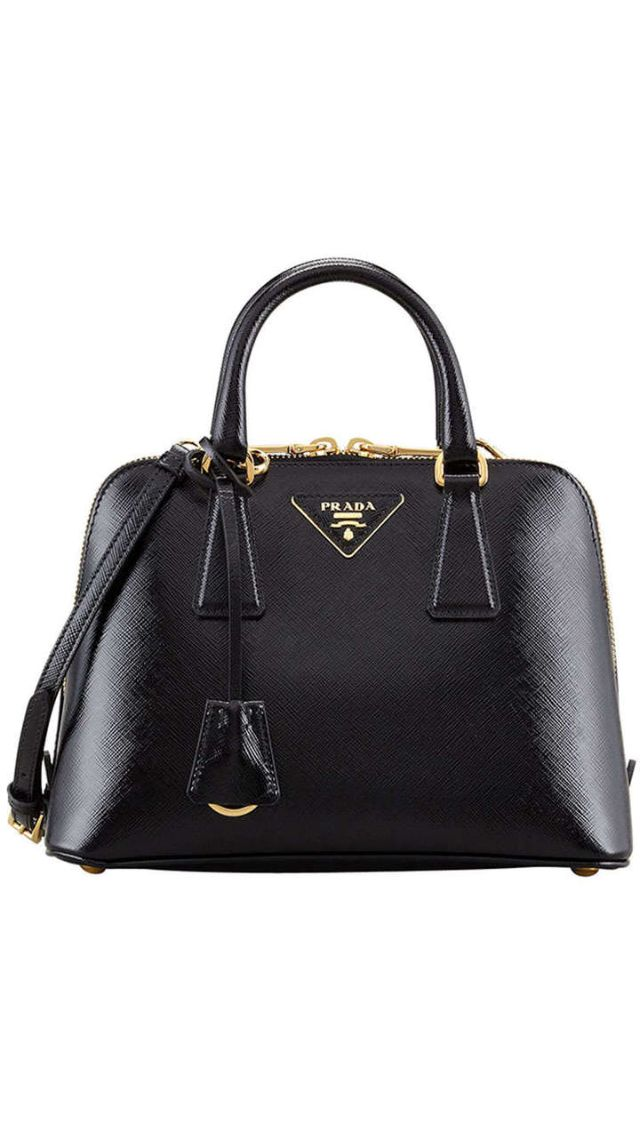 4898d134c Classic Black Prada Bag | Fashion for Women in 2019 | Prada handbags ...