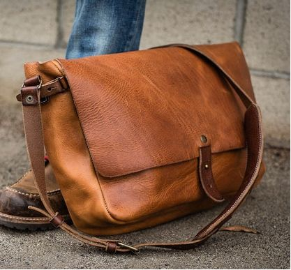 The Classic Vintage Messenger Bag Better With Age