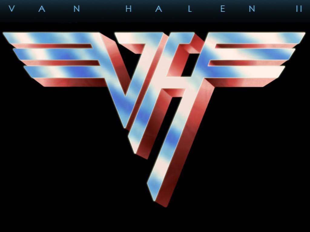 Van Halen Ii Album 2nd Try Van Halen Logo Van Halen Eddie Van Halen