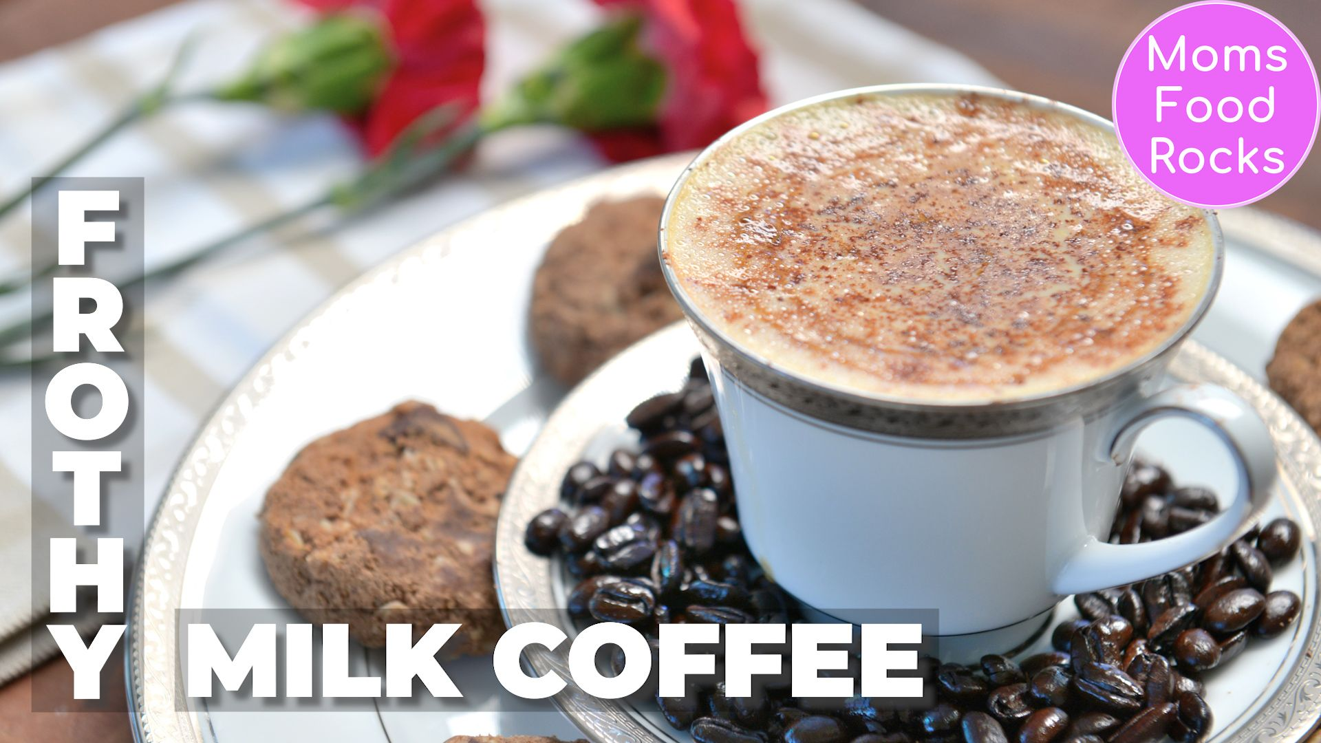 Frothy creamy milk coffee recipe quick easy coffee at