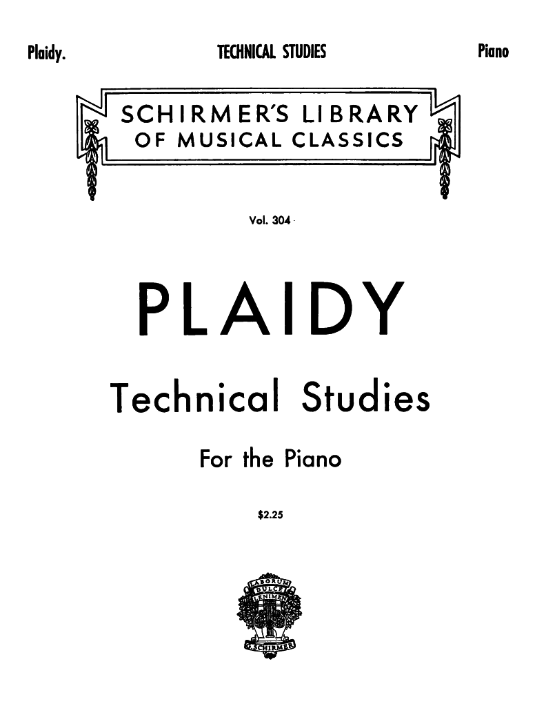 Technische Studien für das Pianofortespiel (Plaidy, Louis) - IMSLP