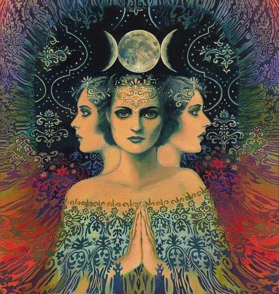 Gran Diosa y Madre… | Arte de la diosa, Producción artística y ...