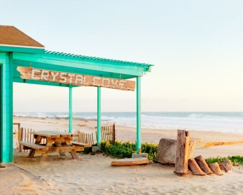 The Historic Crystal Cove Beach Cottages in Southern ...