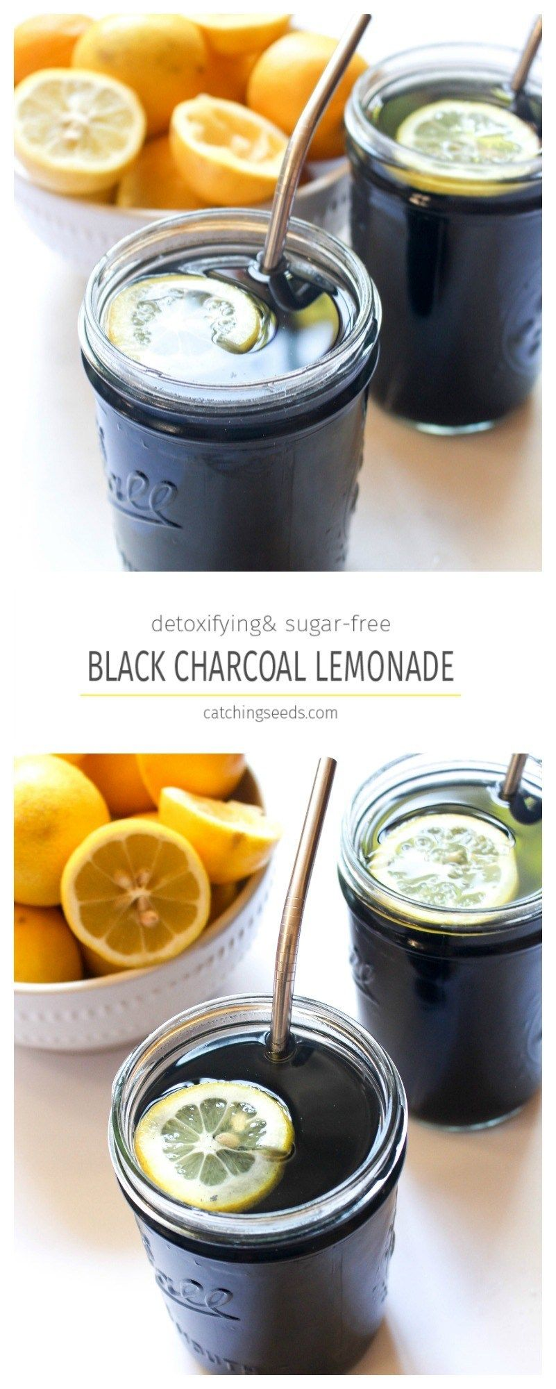 Detox Charcoal Black Lemonade