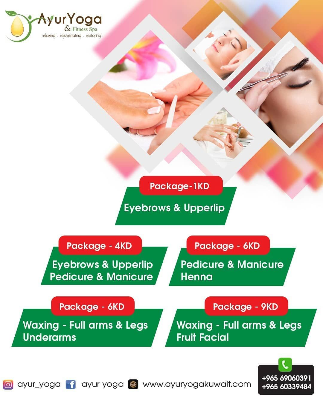 Special Offer 69060391 60339484 Www Ayuryogakuwait Com Beauty Saloon Salon Salmiya Special Offer 69060391 60339484 Beauty Saloon Spa Offers Special Offer