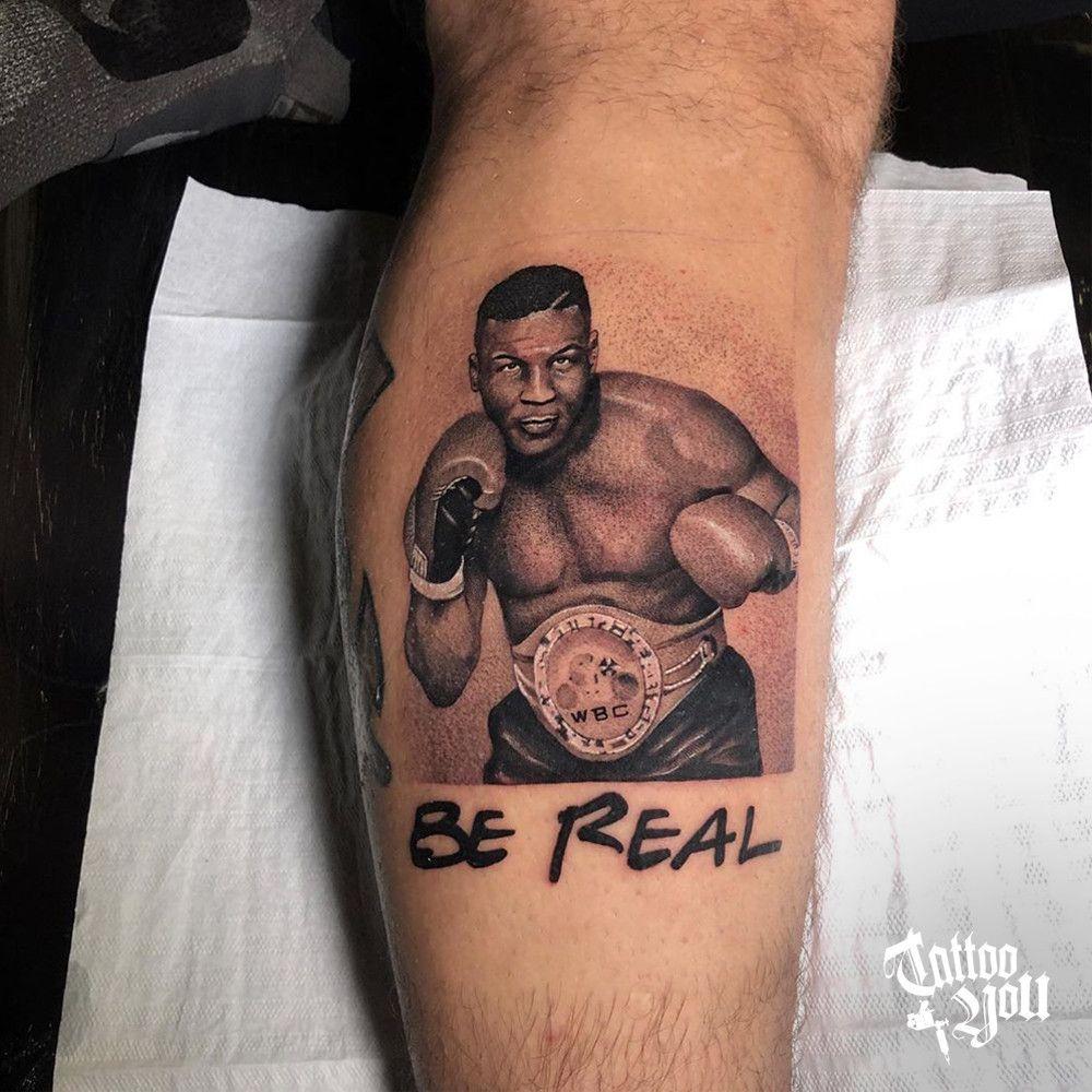 Boxe Mike Tyson Feito Por Andinho Tattooyou Q Tem Como Seus