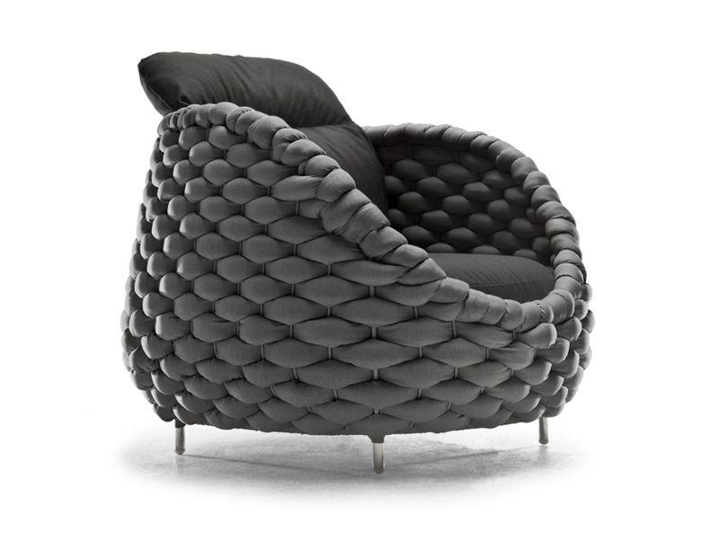 Upholstered armchair RAPUNZEL | Upholstered armchair - KENNETH COBONPUE