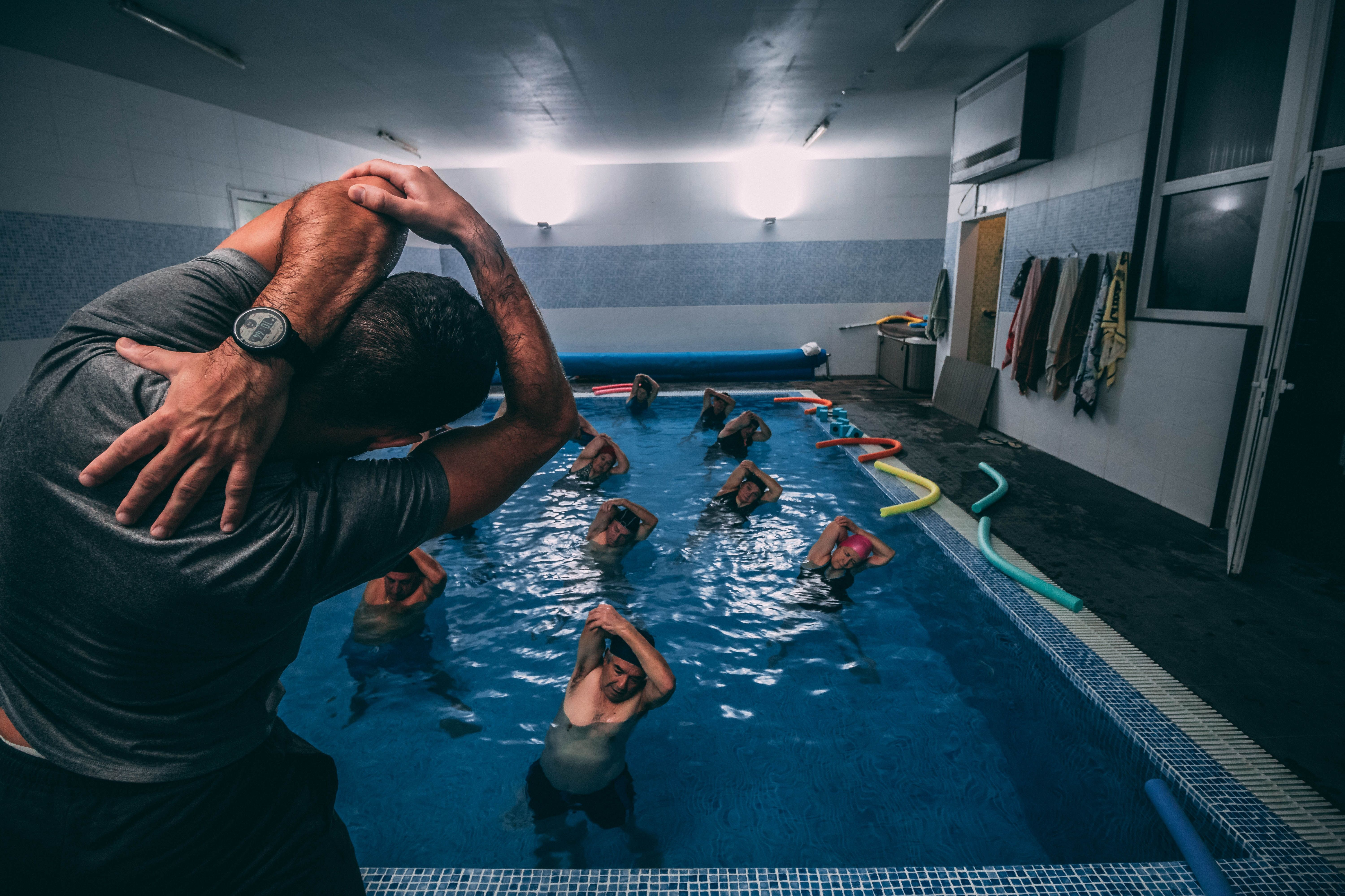 Why Not Rent Out Your Swimming Pool This Year Pool Workout Inside Pool Hiit Workout
