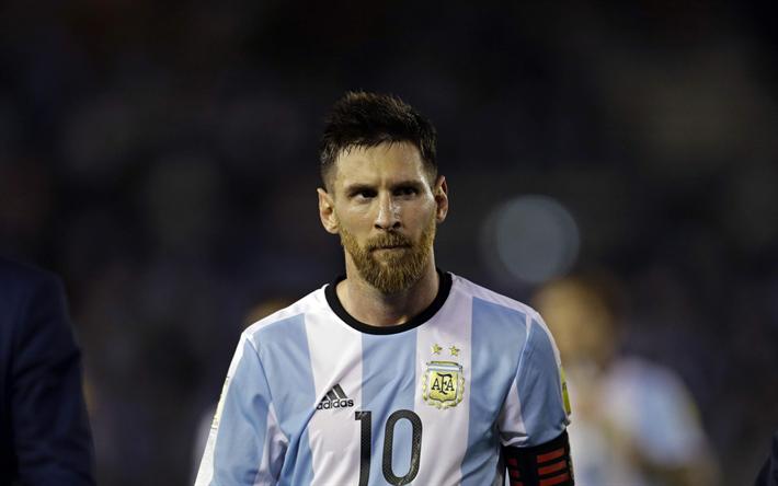 Scarica sfondi Lionel Messi, Argentino, giocatore di calcio, Argentina, calcio, FC Barcelona