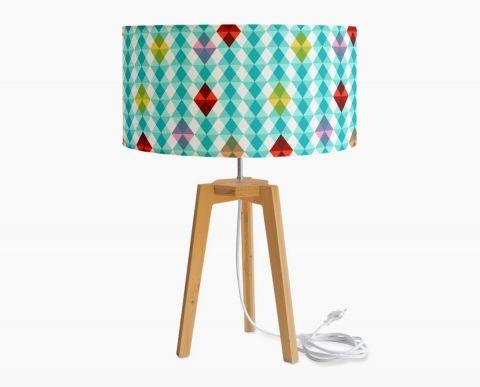 Grande lampe sur pied Kaleïdoscope Bleu | Lamps | Pinterest | Lampe ...
