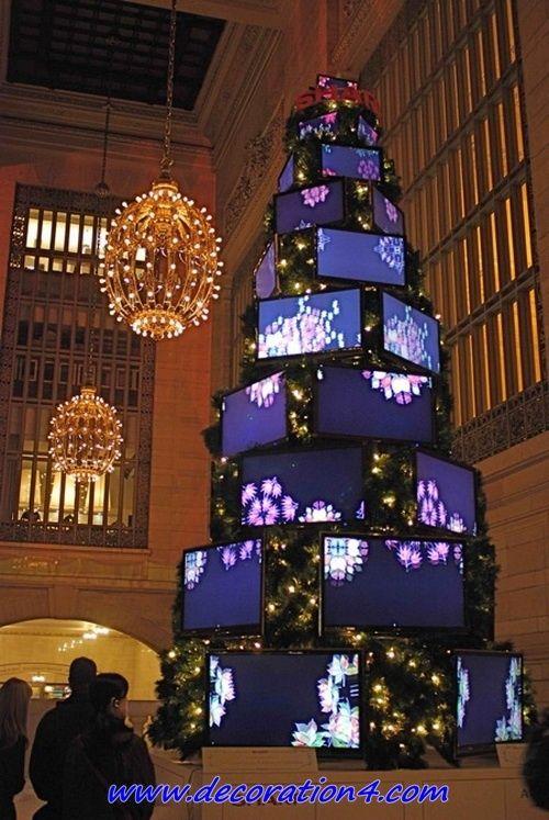 8 High Tech Christmas Trees Unusual Christmas Trees Unique Christmas Trees High Tech Christmas Tree