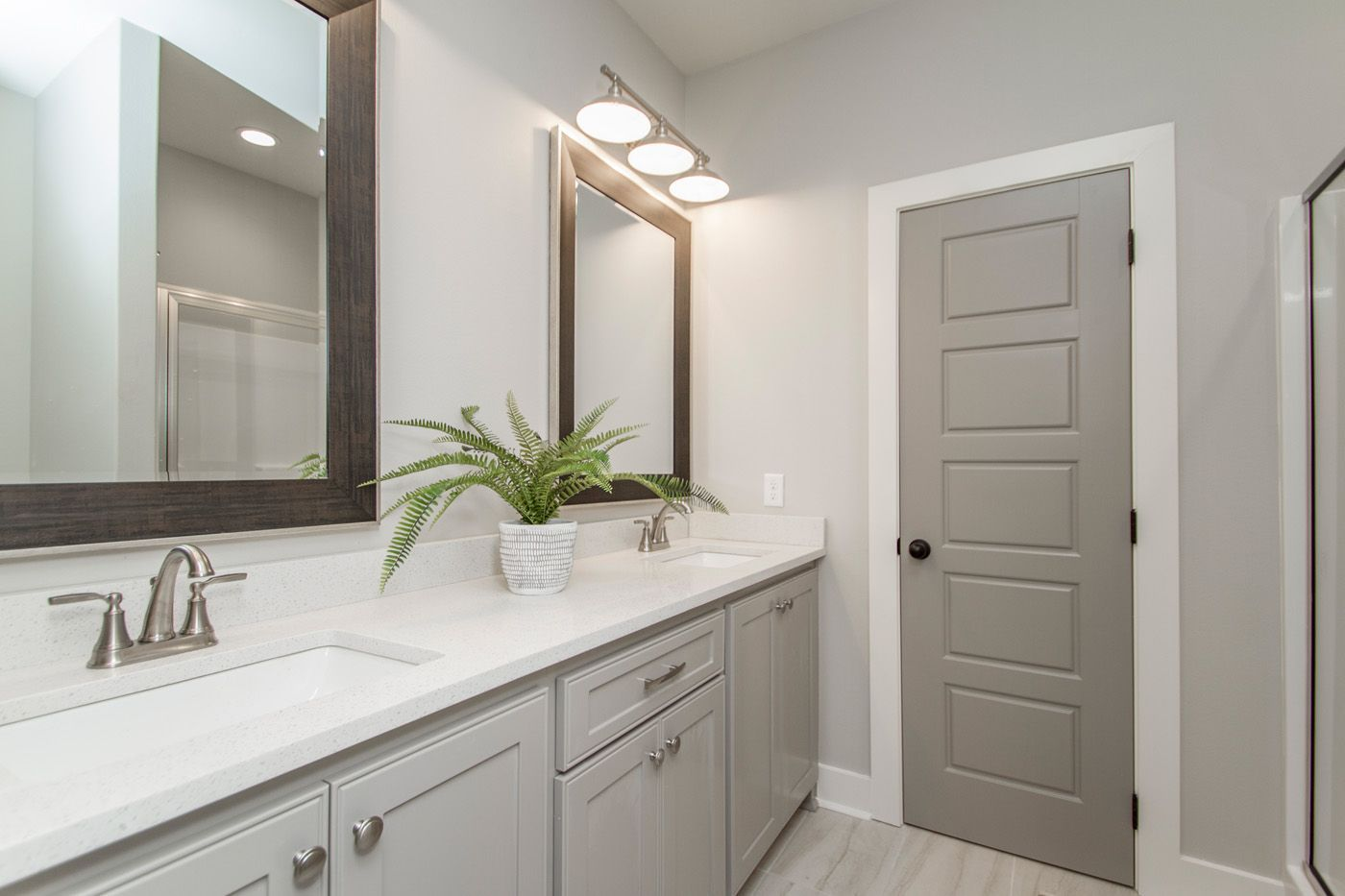 i am sold on the perfect amounts of color these mirrors on custom bathroom vanity mirrors id=61463