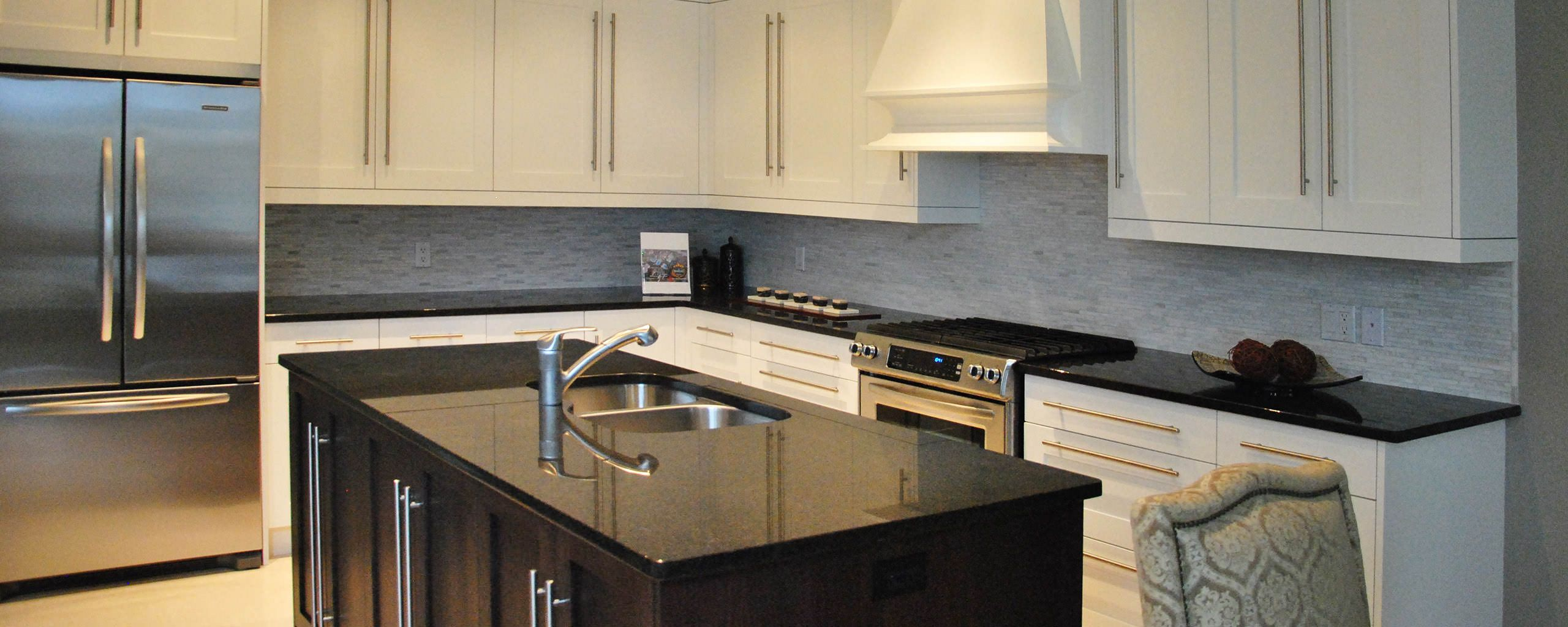 Bring Elegance Into Your Kitchen With Black Granite Countertops Stunning Kitchen And Bath Design Center Decorating Inspiration