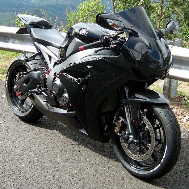 Black Cbr1000rr Honda Bikes Motorcycle Black Honda