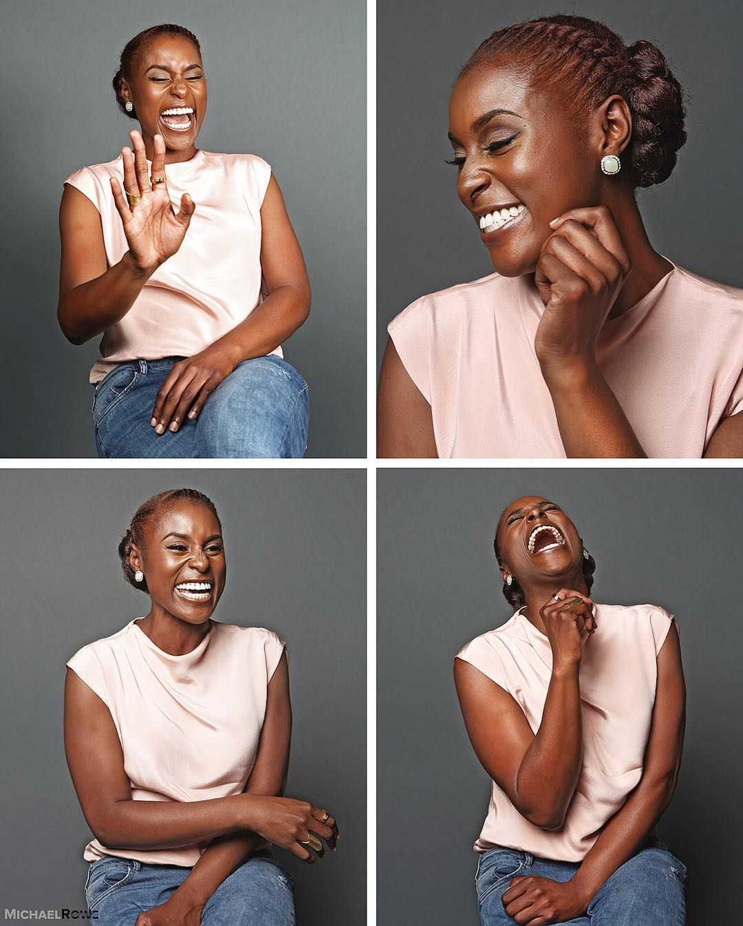 Tag share issa rae continues to show the versatility of natural tag share issa rae continues to show the versatility of natural hair on the show as well as in all her press rocking her twa proudly but not afraid to pmusecretfo Image collections