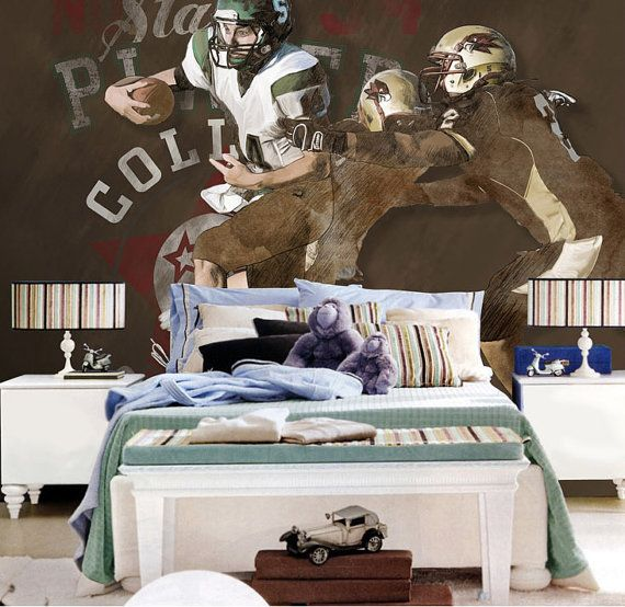 Best Football Game Wallpaper Rugby Wall Decal Art Columbia 400 x 300