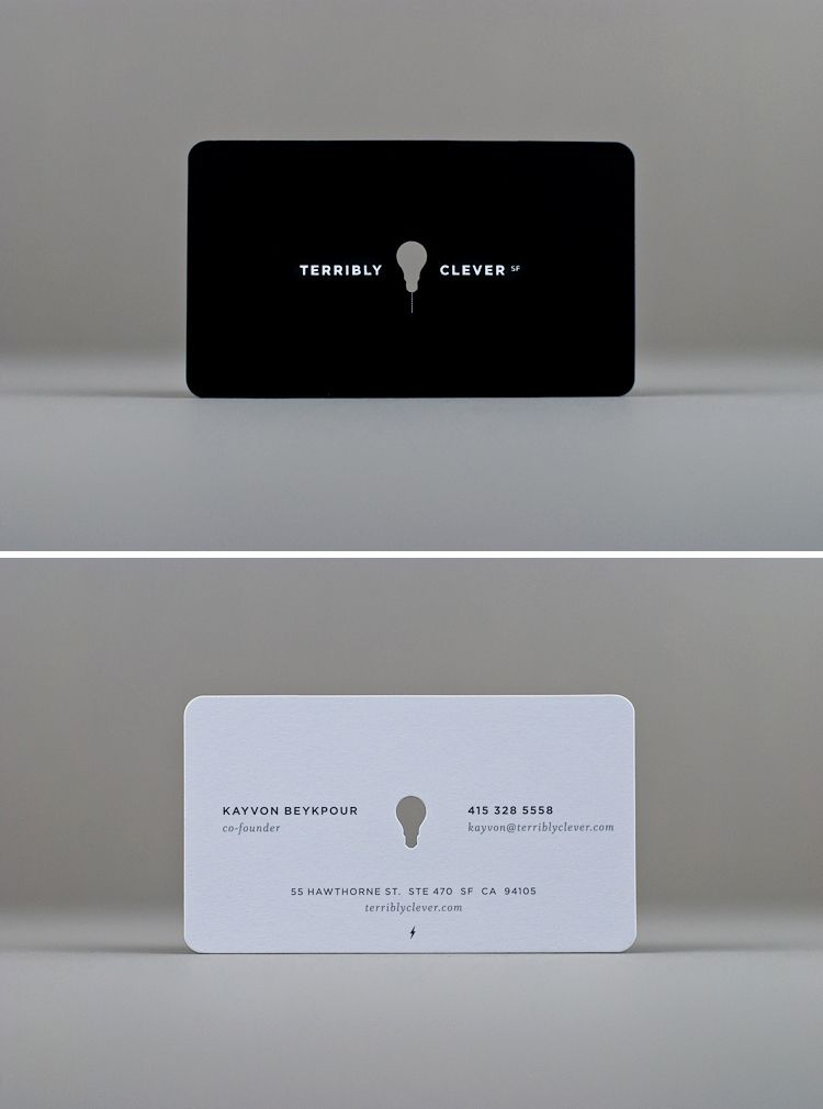 Punch Out Business Card 3