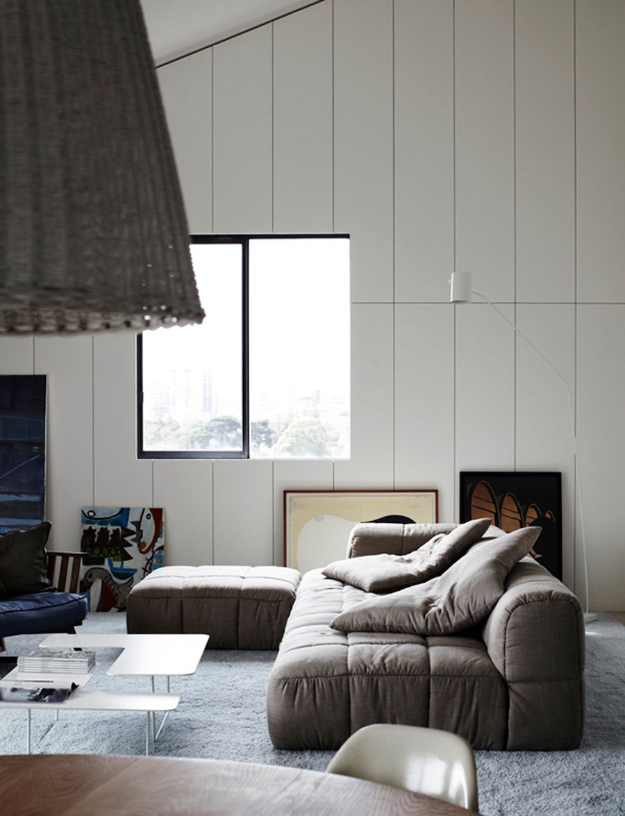 But the couch Beaconsfield Parade by Whiting Architects Interior