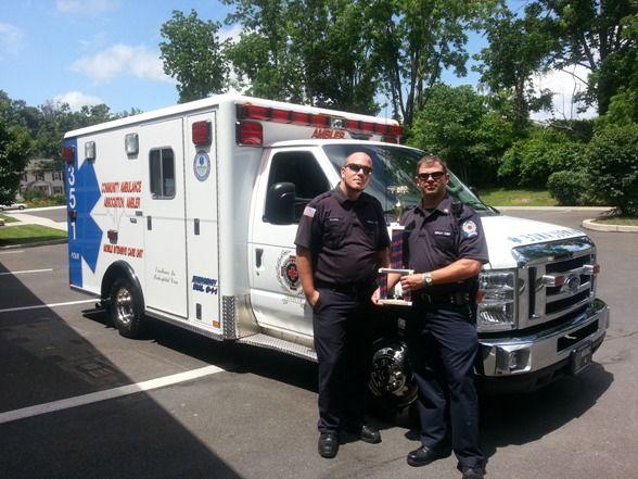 Ambler Ambulance Wins Best Appearing Ambulance At Oreland S July 4th Parade Oreland Ambler Ambulance