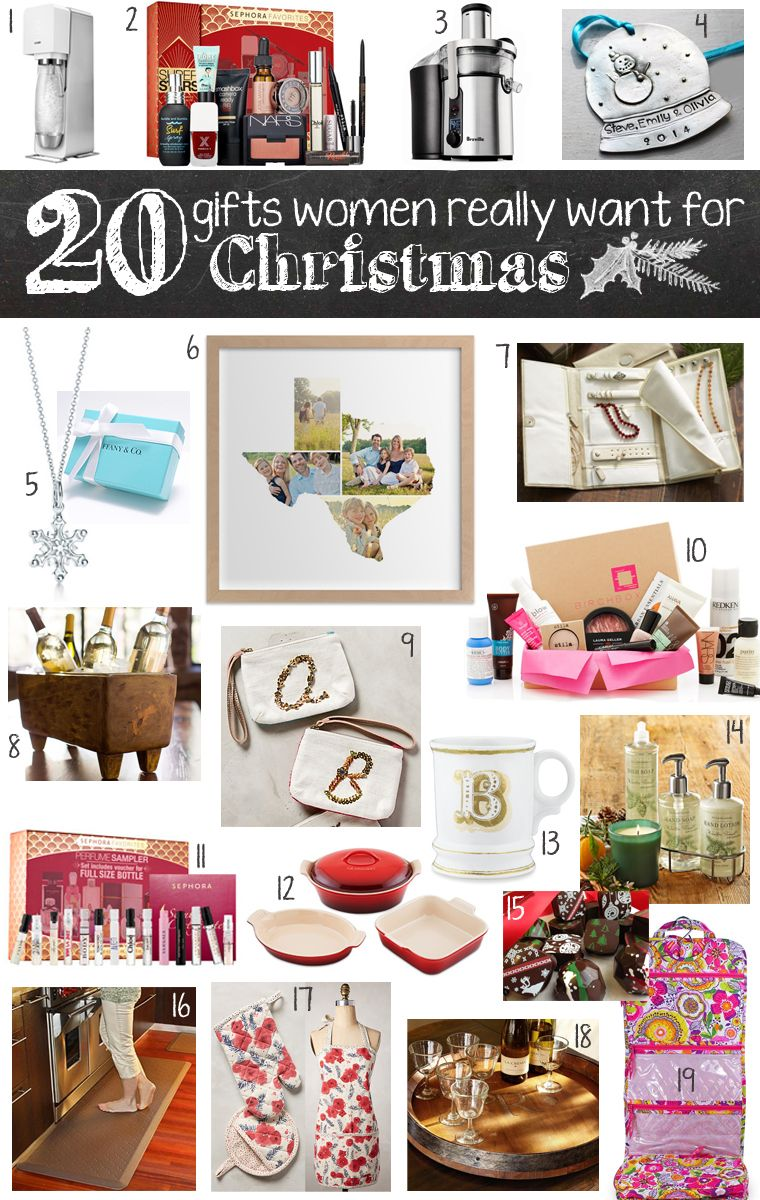 20 Gifts Women Really Want for Christmas Gifts for women