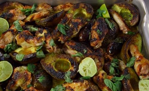 James Martin Oven Roasted Avocado With Chicken Wings Recipe James Martin Recipes Wing Recipes Oven Roasted Avocado
