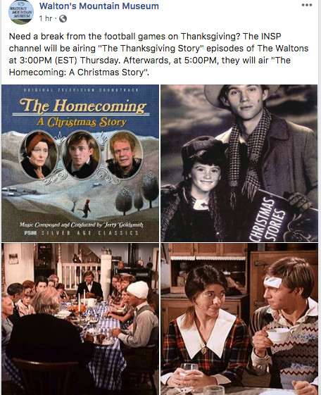 Thanksgiving stories image by Deanna Twedt on The Waltons