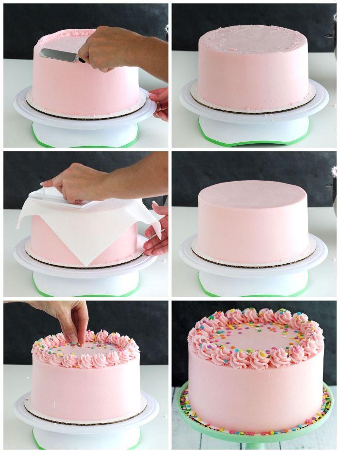▷ 1001 + Ideen und Anleitungen, wie Sie Torten verzieren #tortegeburtstag