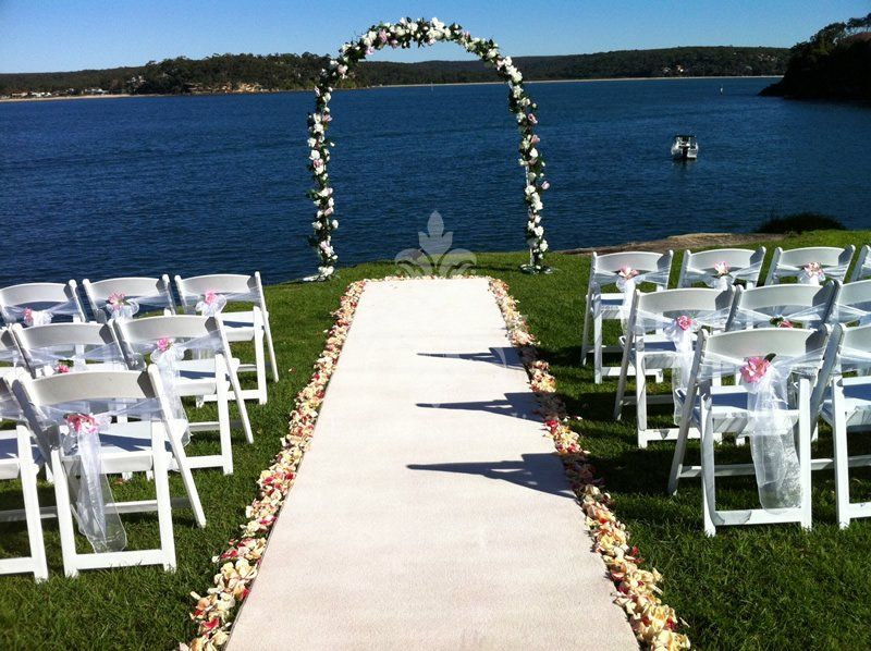 Aisle runners wedding chair decorations outdoor wedding