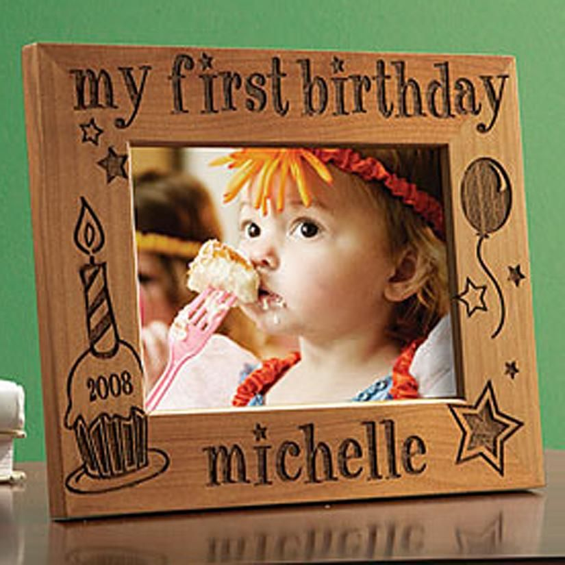 My First Birthday Frames Personalised 1st birthday gifts