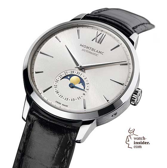 49ebb209967 The  montblanc Meisterstuck Heritage Moonphase is powered by an ETA or  Sellita automatic caliber to which a moon-phase indication is added.