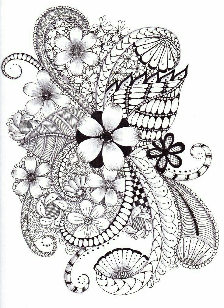Pin de Maria Cecilia Alvira Melendro en mandalas flores   Pinterest ...